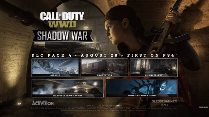 Ultimo dlc de WWII ya disponible en Playstation 4