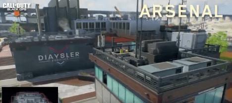 Los mapas del multijugador en Black Ops 4