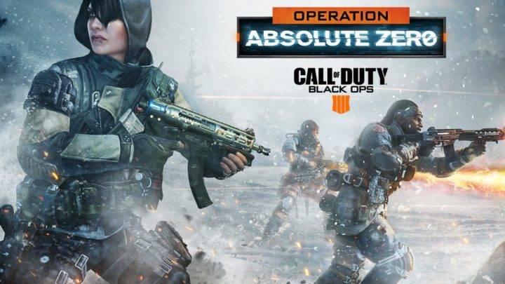 Actualización Operation Absolute Zero de Black Ops 4