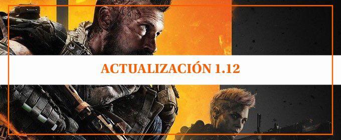 Nueva actualización en Black Ops 4 – versión 1.12