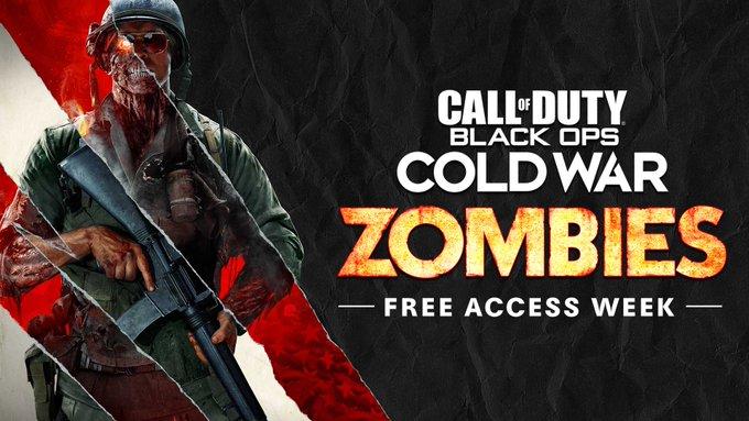 Los Zombies del Call of Duty: Black Ops Cold War será gratuito durante una semana