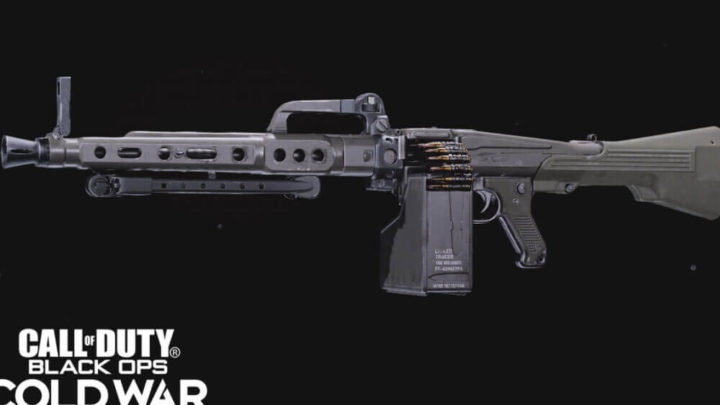Mejor equipo MG 82 para Black Ops Cold War Season 4